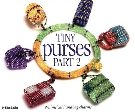 beaded purse tutorial miniature beaded tiny purses patterns beaded