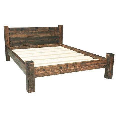 king bed frame wooden best 25 rustic bed frames ideas on diy bed
