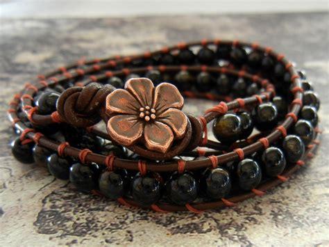 how to make a jewelry bracelet 23 diy leather wrap bracelet patterns guide patterns