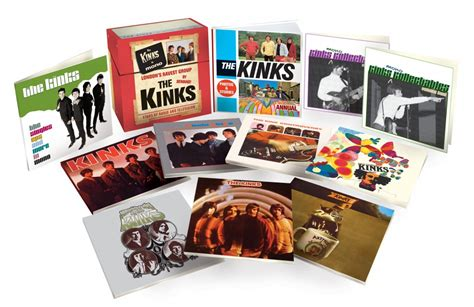 the kinks picture book box set the kinks the mono collection released 18th november