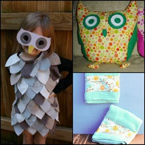 owl craft projects 13 owl craft ideas allfreesewing