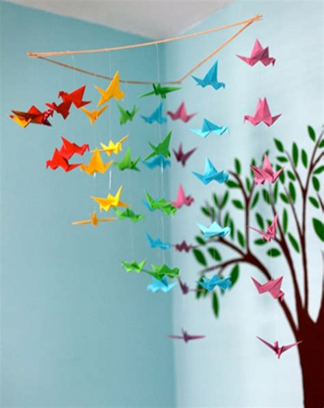 make origami decorations 20 origami decor ideas for a room kidsomania