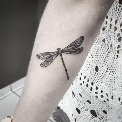 dotwork dragonfly tattoo on forearm best tattoo ideas