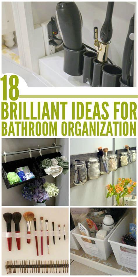 organized bathroom ideas brilliant ideas for an organized bathroom