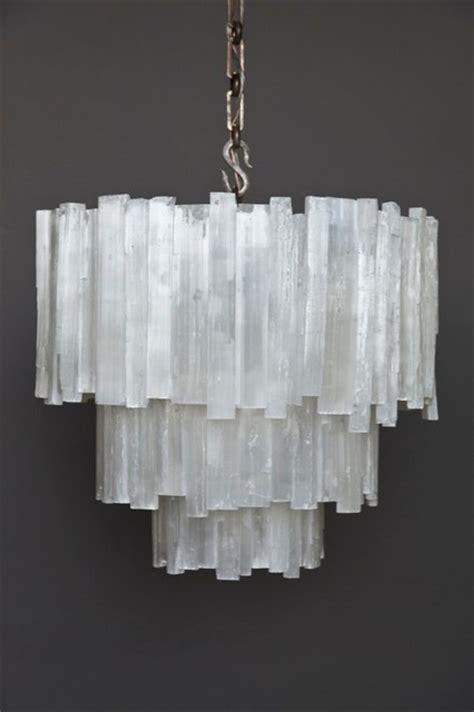 selenite chandelier three tier selenite chandelier contemporary chandeliers