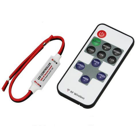 wireless led light strips mini led dimmer 12v wireless remote controller light