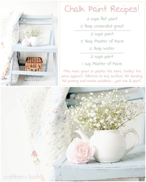 chalk paint recipe chalk paints make decorating easy we work from home