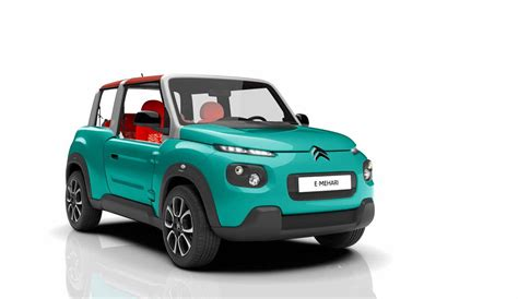 Citroen Auto by Citroen E Mehari The Electric Buggy You Can Buy In