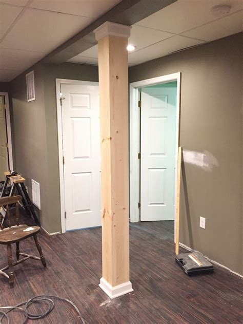 post covers for basement 25 best ideas about basement pole covers on