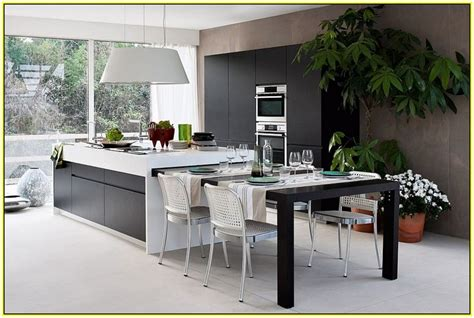 kitchen island with table combination 17 best images about kitchen island table combinations on countertops small