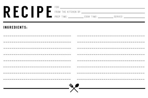how to make recipe cards on word top 5 resources to get free recipe card templates word
