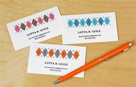 business cards make 11 free printable business cards you can make at home