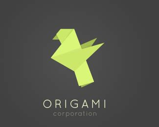 origami bird logo logopond logo brand identity inspiration origami