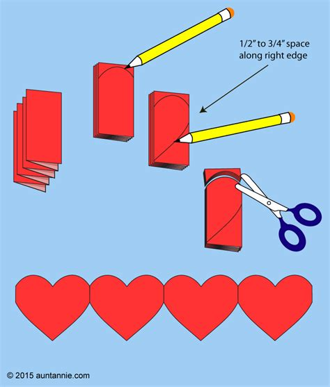 how to make out of paper how to make paper chains valentines crafts