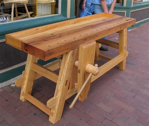 woodworking benches plans will myers moravian workbench lost press