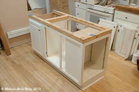 how do you build a kitchen island april 2013 reshaping our footprint
