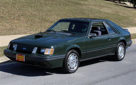 1985 ford mustang svo hertz rent a racer for sale 63245 mcg