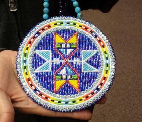 beaded medallion beaded medallion imelda eaglestar beadwork