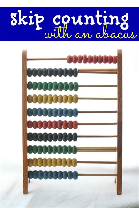 abacus counting skip counting with an abacus i can teach my child