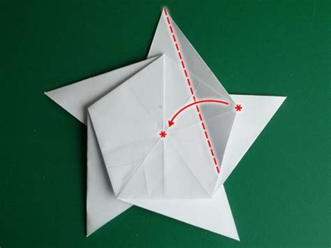 how to make an origami 5 pointed the 5 pointed origami everythingg