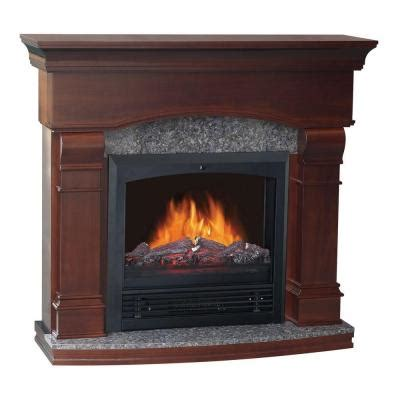 fireplace home depot quality craft 47 in electric fireplace in walnut som480pg