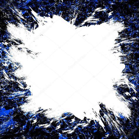 tache blanche de la peinture sur un fond bleu despace blanc sur fond bleu photographie arti19
