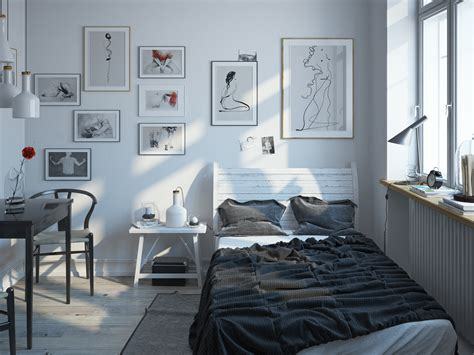 scandinavian bedroom design ideas scandinavian bedroom design for with a white color