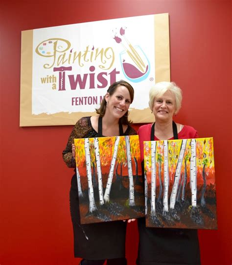 paint with a twist painting with a twist in fenton now open giveaway