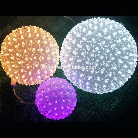 outdoor ornament yellow ornament balls outdoor hanging light