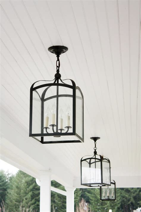 outdoor farmhouse lighting bhg style spotters