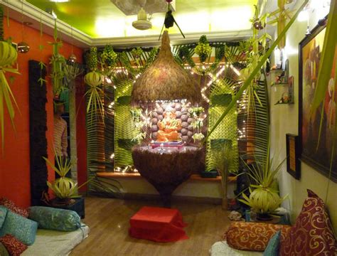 ideas for home decorating creative ganpati decoration ideas for home the royale