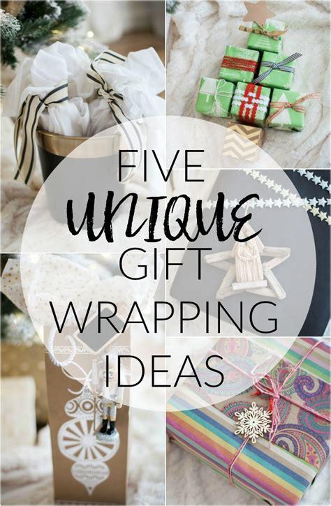 home unique gift wrapping ideas mcbride