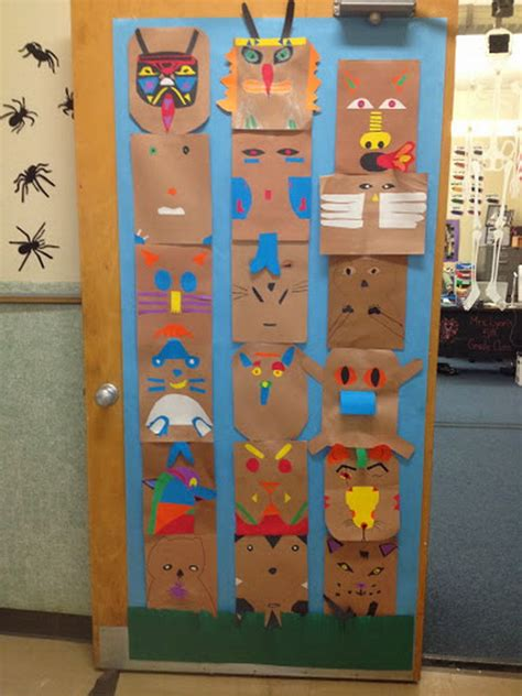 totem pole craft for cool totem pole craft projects for hative