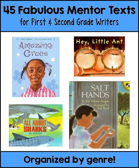 picture books to teach narrative writing writing workshop mentor texts for 1st and 2nd grade