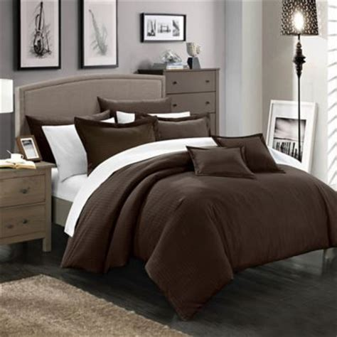 brown and white comforter sets buy brown comforter sets from bed bath beyond