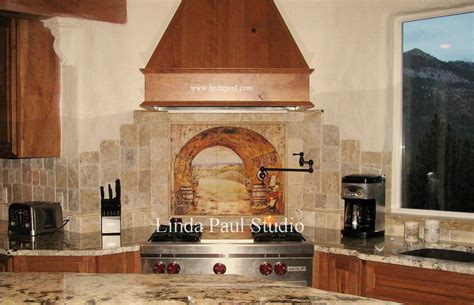 pictures of kitchen tile backsplash tuscan backsplash tile wall murals tiles backsplashes
