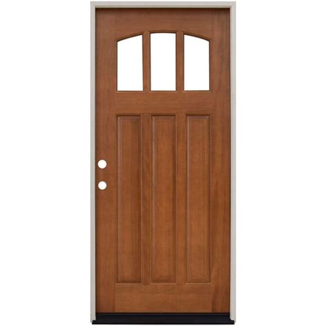 wood exterior front doors single door wood doors front doors exterior doors