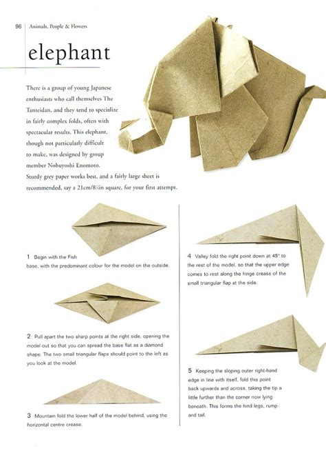 how to make a elephant origami 25 best ideas about origami elephant on