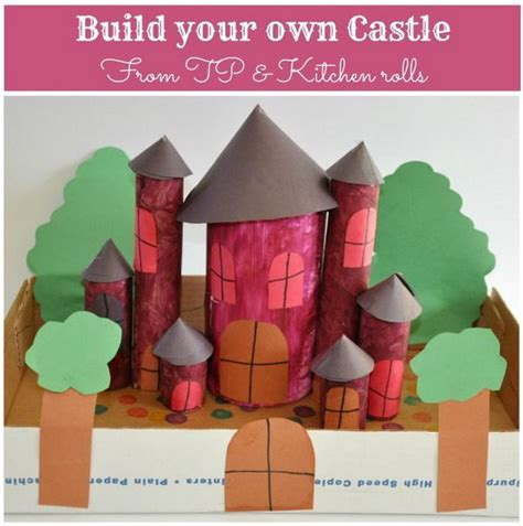 toilet paper roll castle craft 10 building themed toilet paper roll crafts