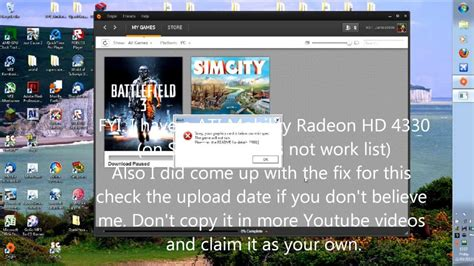 how to make your graphics card run any how to make simcity 5 run with any graphics card 2013