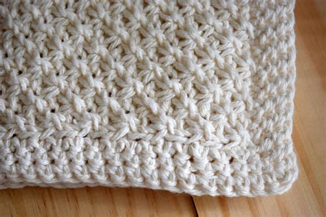 crochet knit stitch knit stitch washcloth pattern nourish and nestle