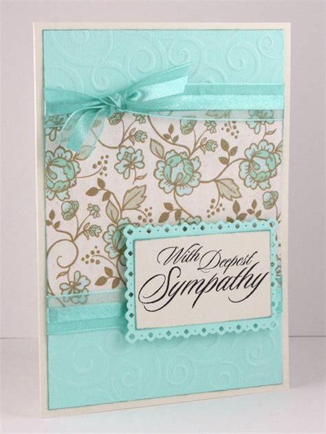 how to make sympathy cards handmade sympathy cards picmia