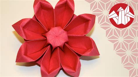 Origami Fleur Gerbera Flower Origami Gerbera