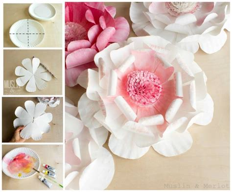diy paper flower crafts the best diy project easter craft ideas
