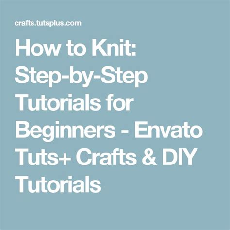 how to knit step by step for beginners 17 best images about a stitch in time on
