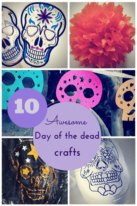 day of the dead crafts for 10 awesome day of the dead crafts for