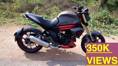 Modified Bikes Bangalore by Mahindra Mojo Modified To Look Like Ducati Bigbangbiker