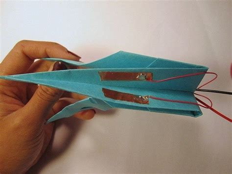 how to make an origami crane that flaps its wings how to make an electronic origami crane that flaps its own