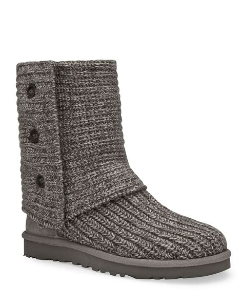 uggs knitted boots ugg 174 australia classic quot cardy quot knit boots