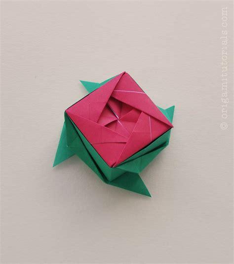 origami ros argyle kusudama tutorial origami tutorials